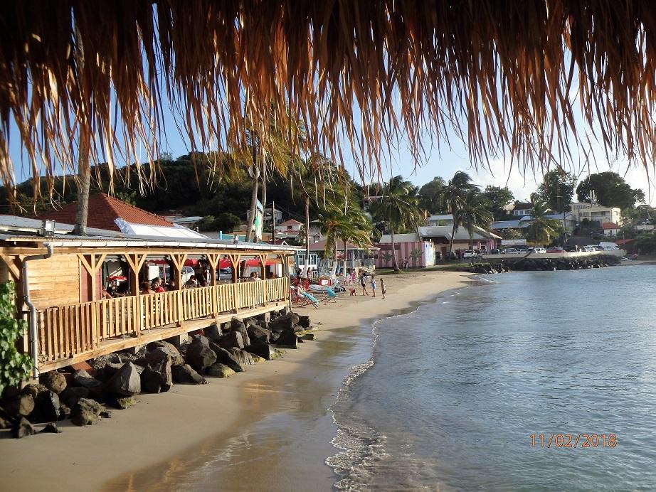 La plage de Ste Anne