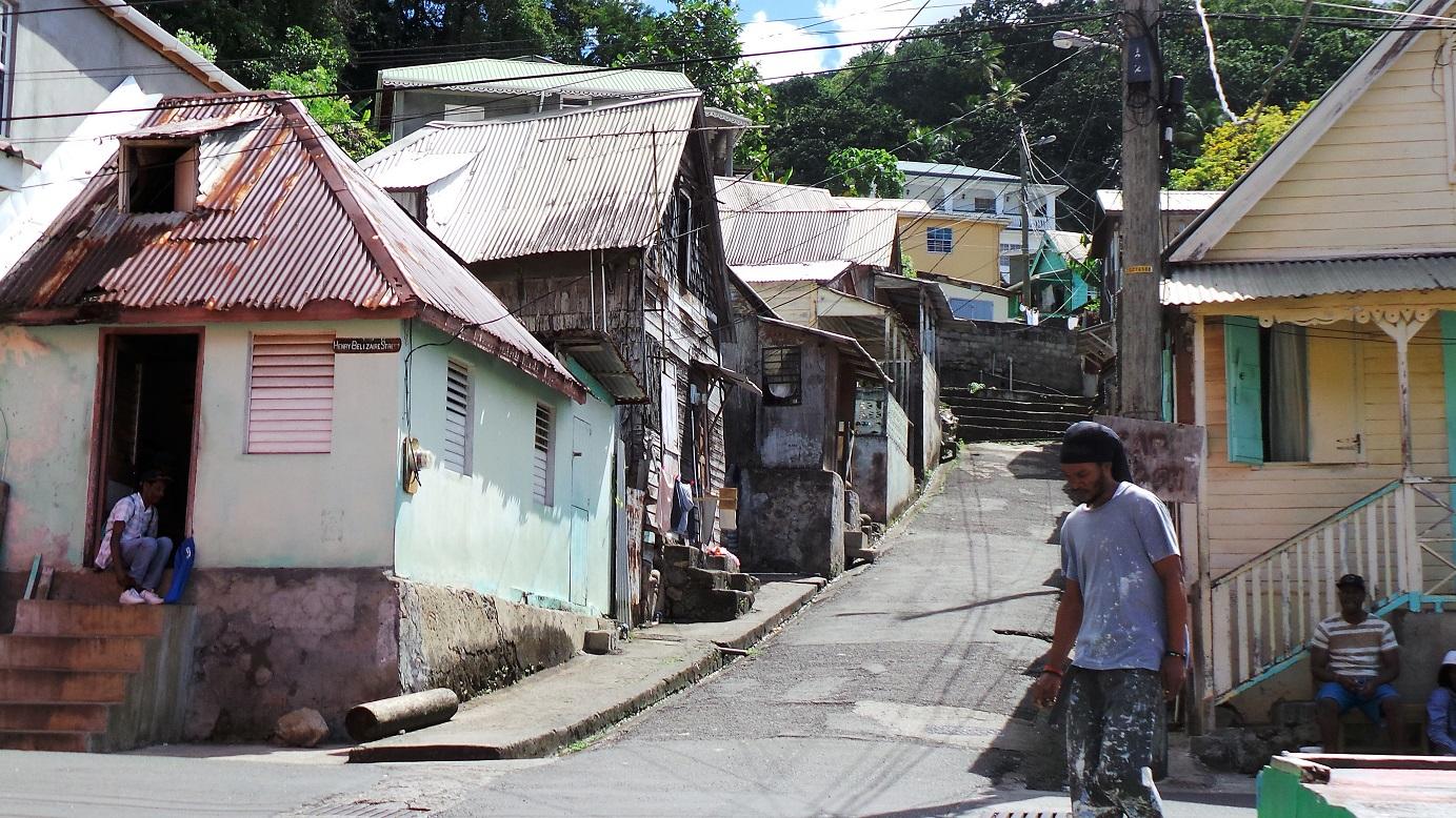 La Soufrière - une rue parmi d'autres