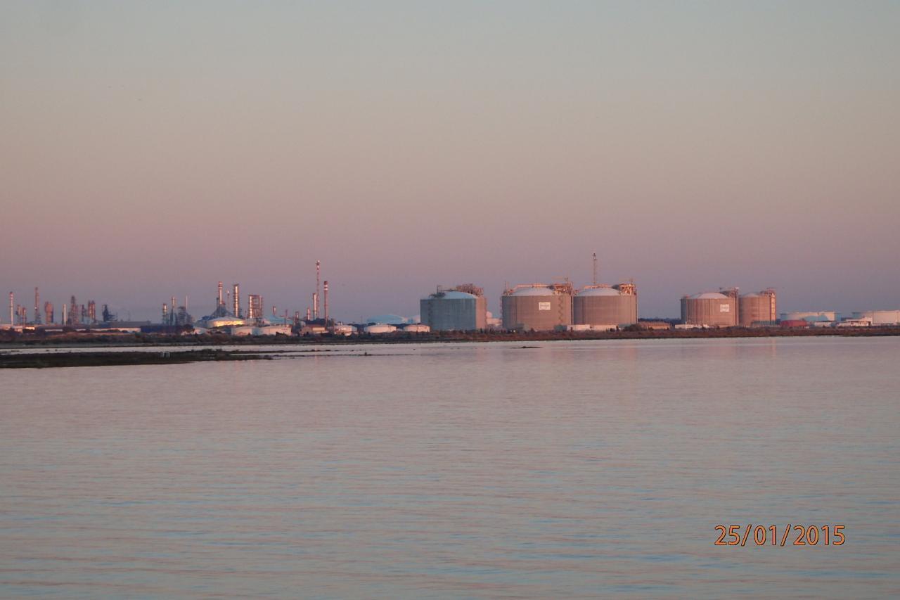 La raffinerie de Huelva