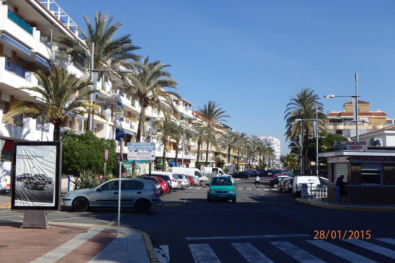Punta Umbria - la rue principale