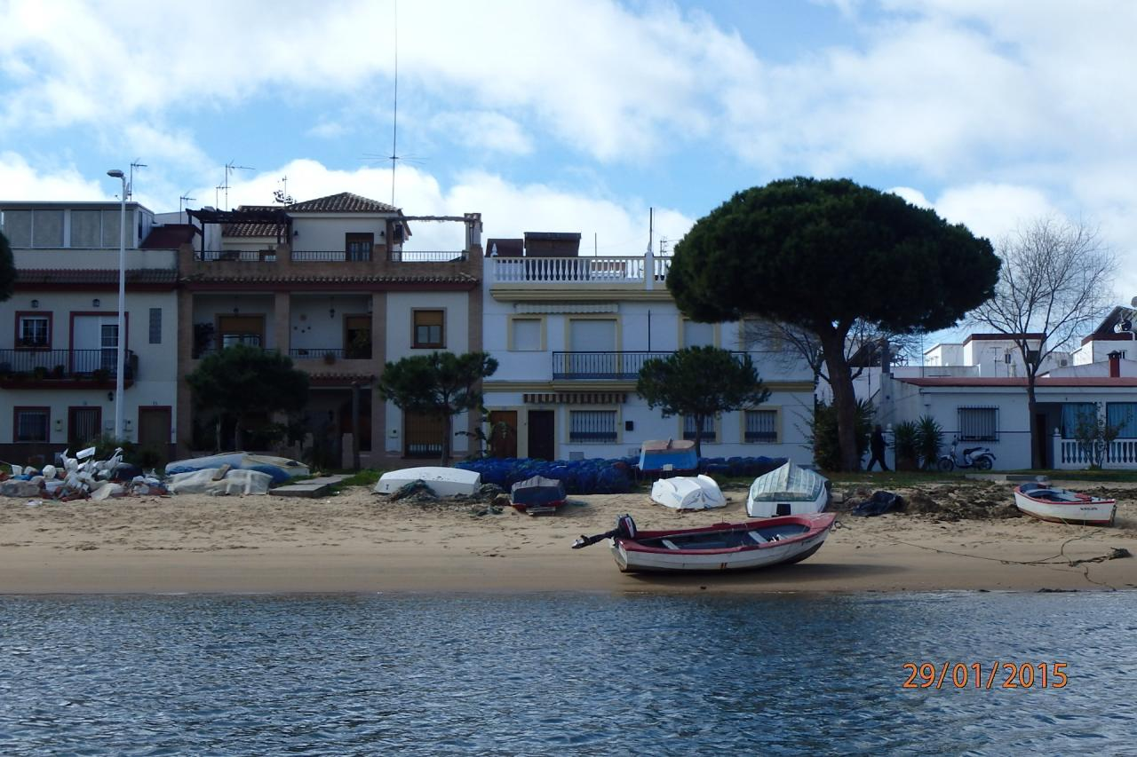 Punta Umbria - la plage côté rivière