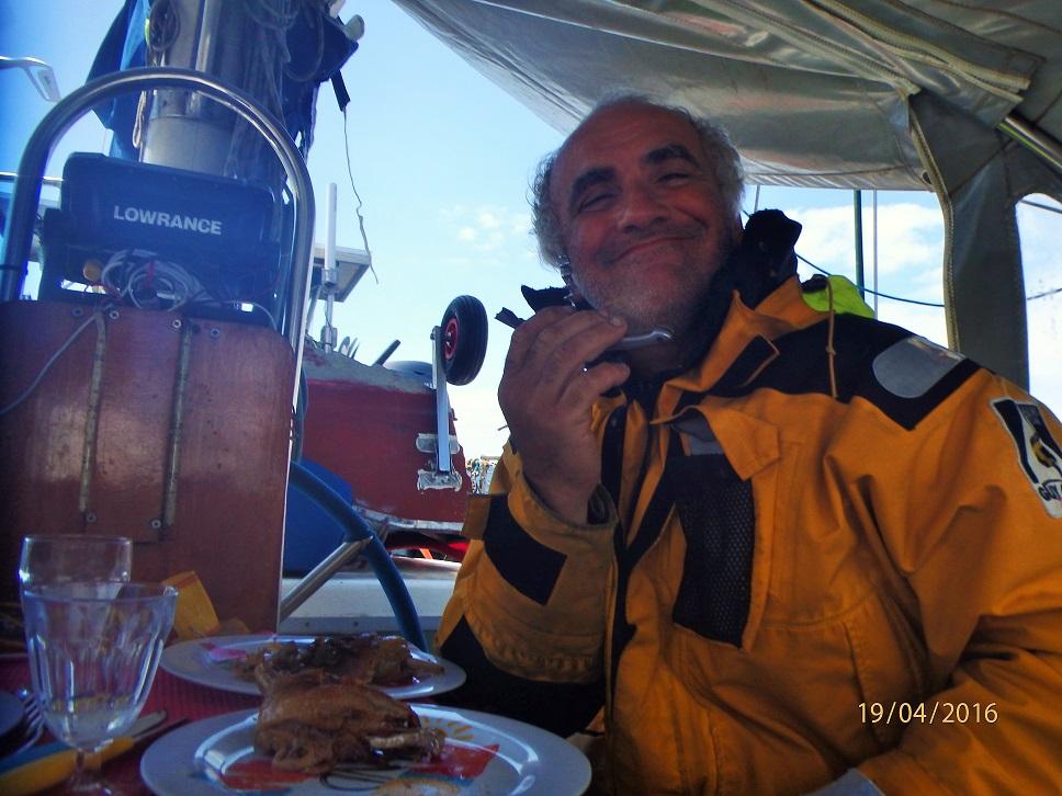 Gueuleton pour le dernier jour de mer