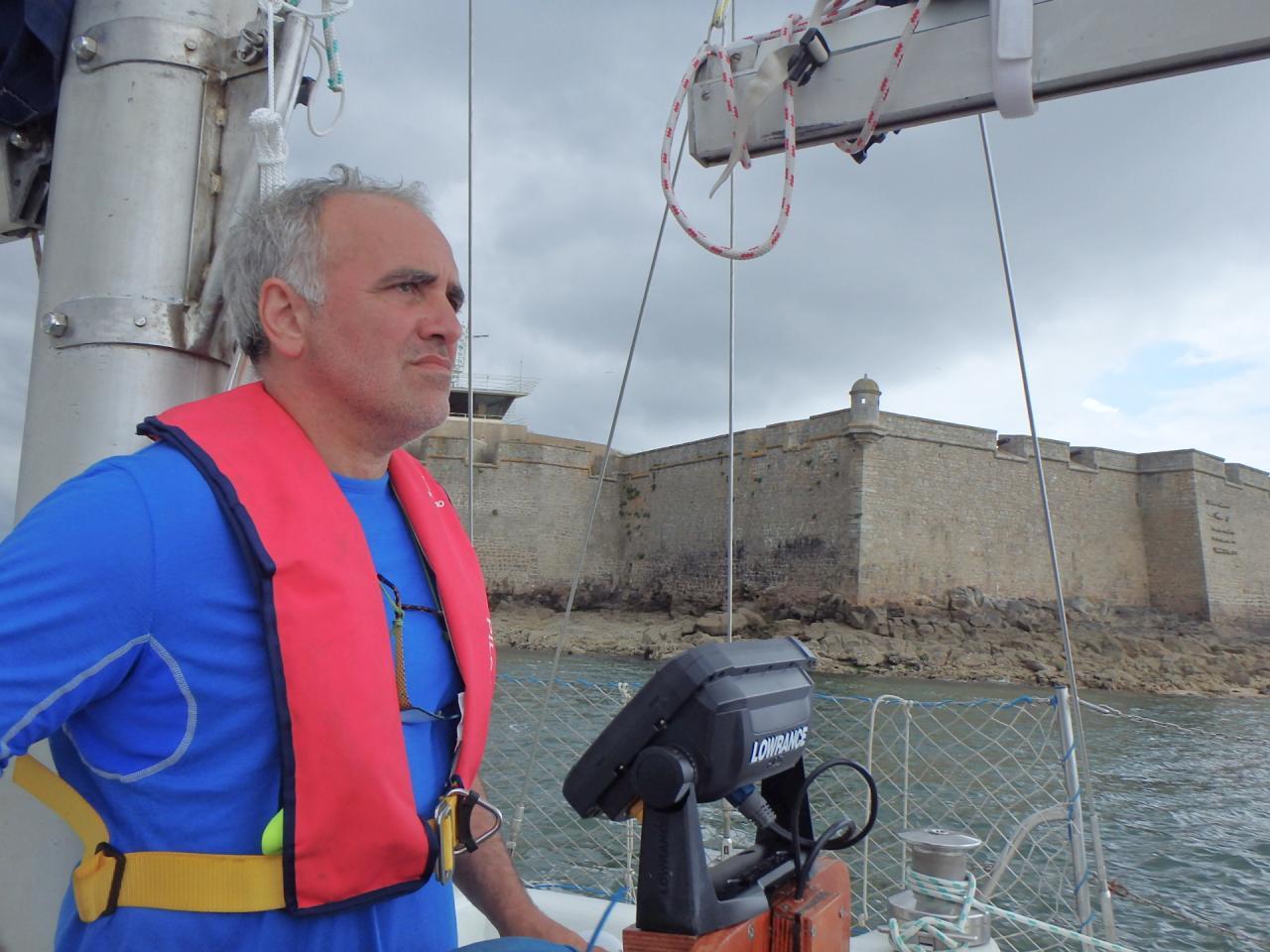 Sortie de la rade de Lorient