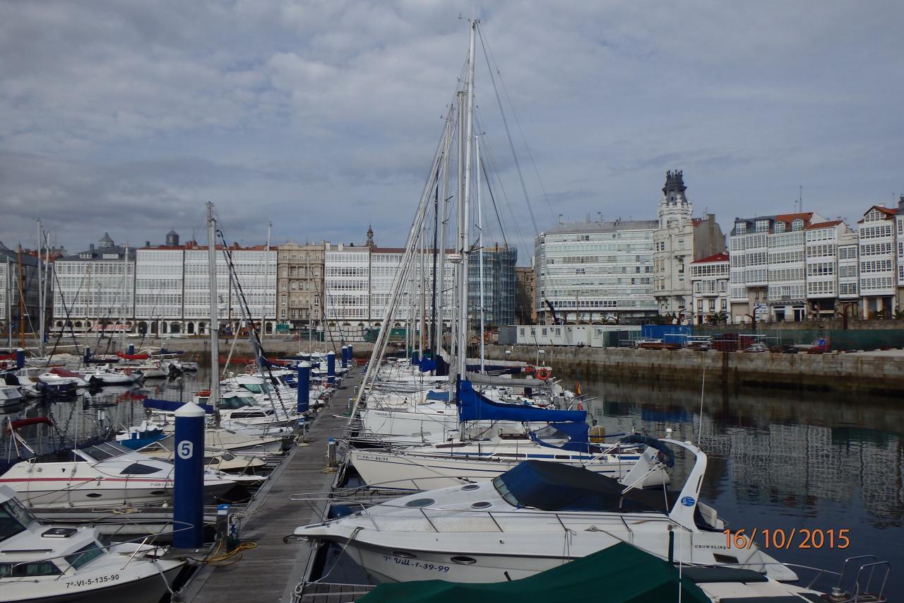 la marina au centre ville