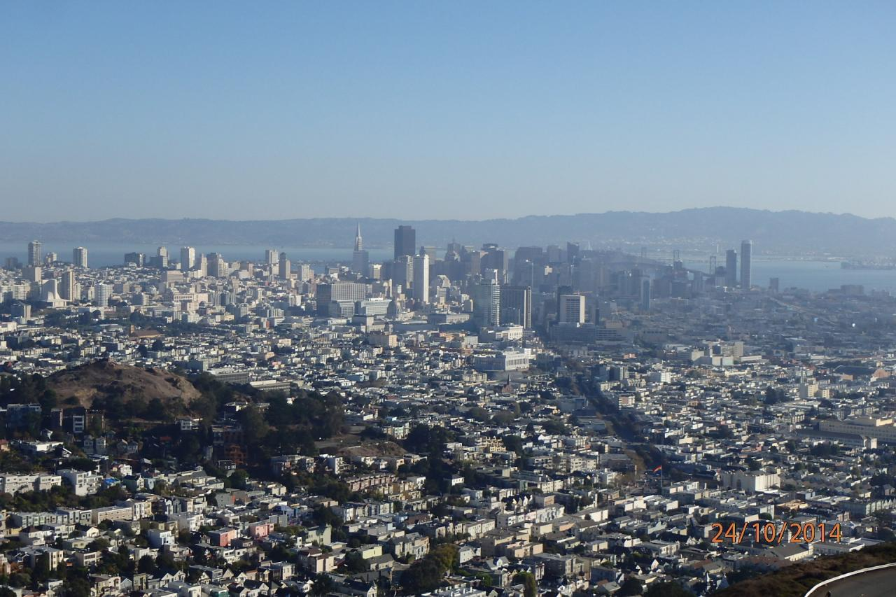 Vue panoramique de San Francisco