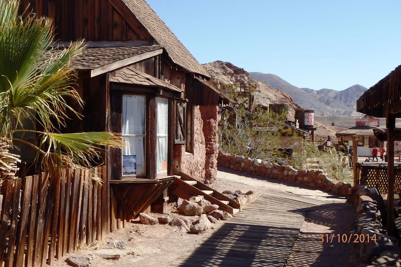 Calico : ville minière fantôme restaurée