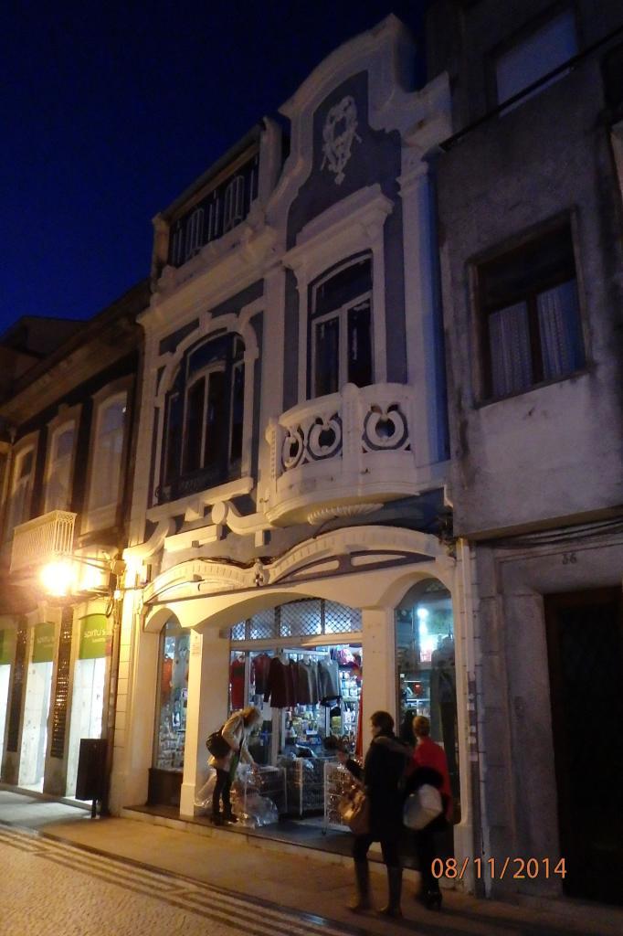 maison de la rue piétonne