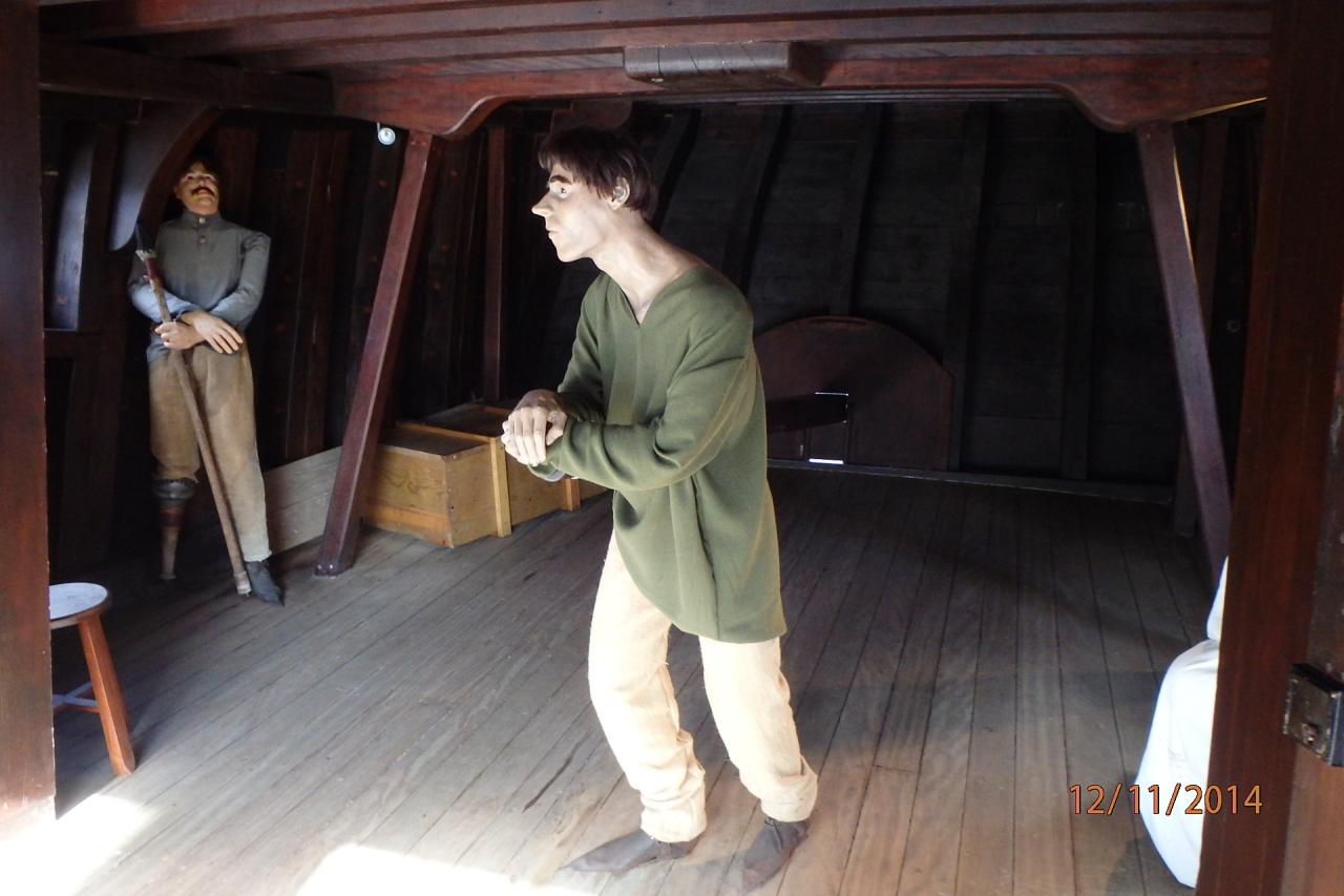 le vaisseau à Vila do Condé
