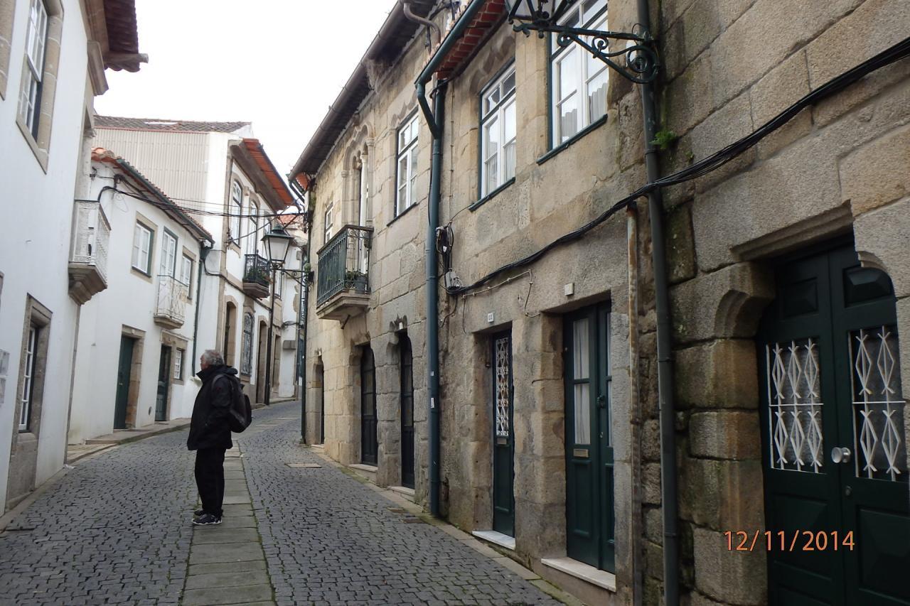 une rue dans la vielle ville de Vila do Condé