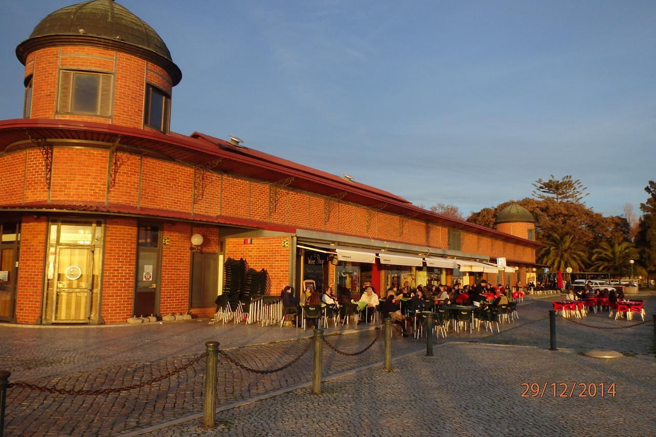 Olhao : le bar Cantaloupé et sa terrasse