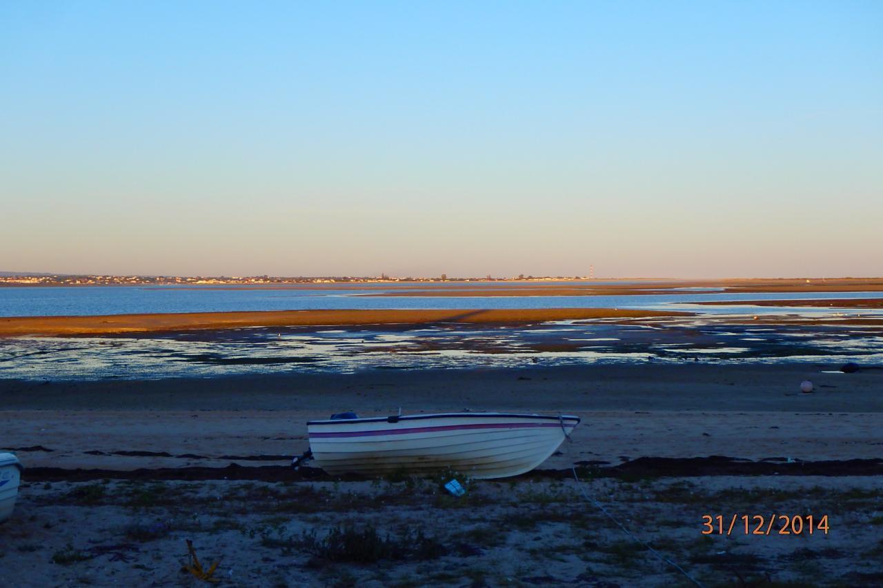 La lagune à marée basse