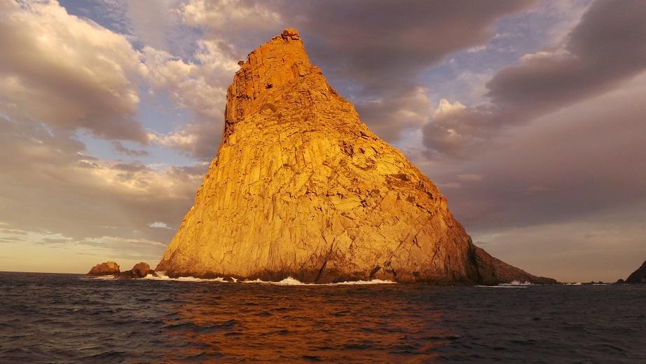 pointe Nord Tenerife au coucher de soleil