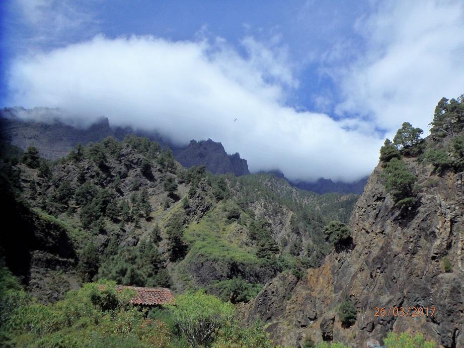 Vue sur le Barranco de Las Angustias