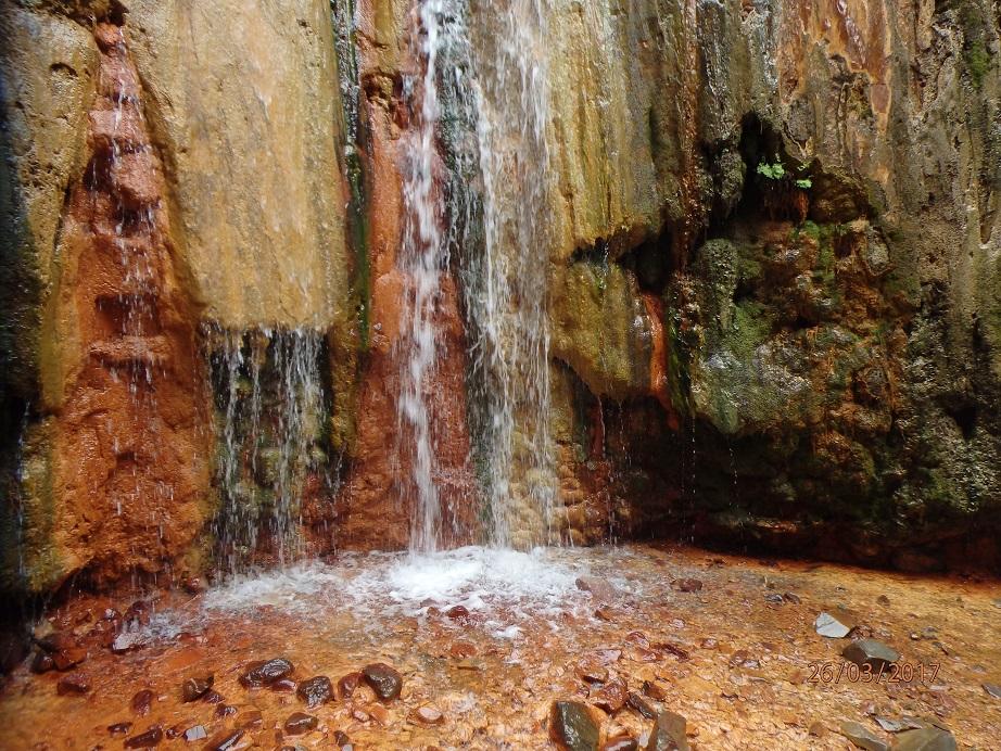 Les couleurs de la cascade