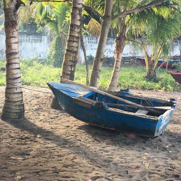 Barque de pêcheur à Wallilabou bay