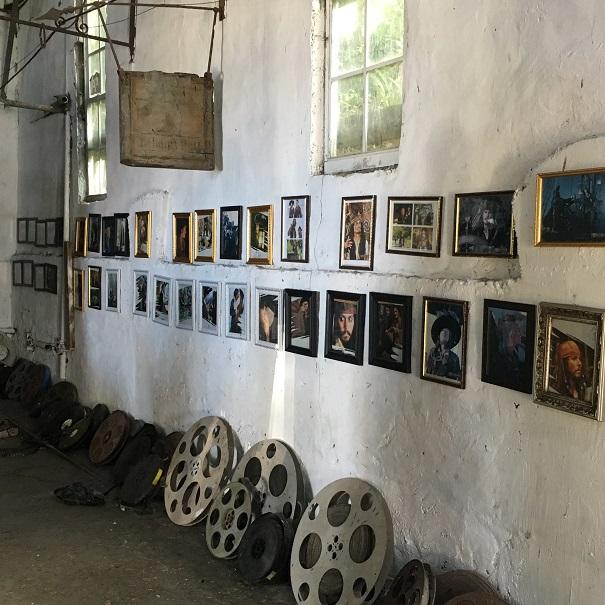 Wallilabou Bay - vestiges du tournage