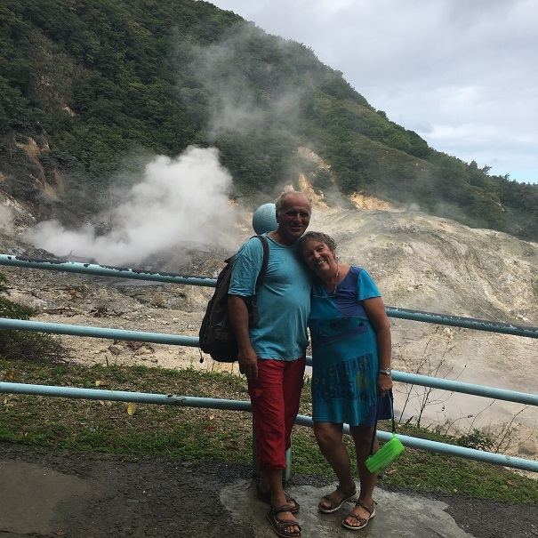 Visite du volcan
