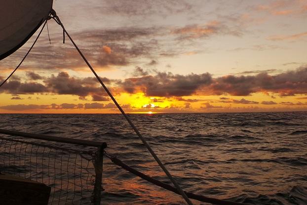Premier (et unique) beau coucher de soleil