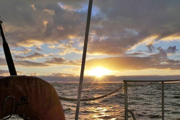 Premier (et unique) beau lever de soleil