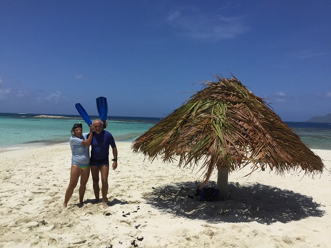Snorkling à Morpion Island
