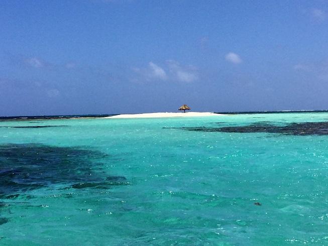 Morpion Island : quelques mètres de sable