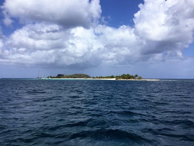 Sandy Island : une langue de sable et des cocotiers