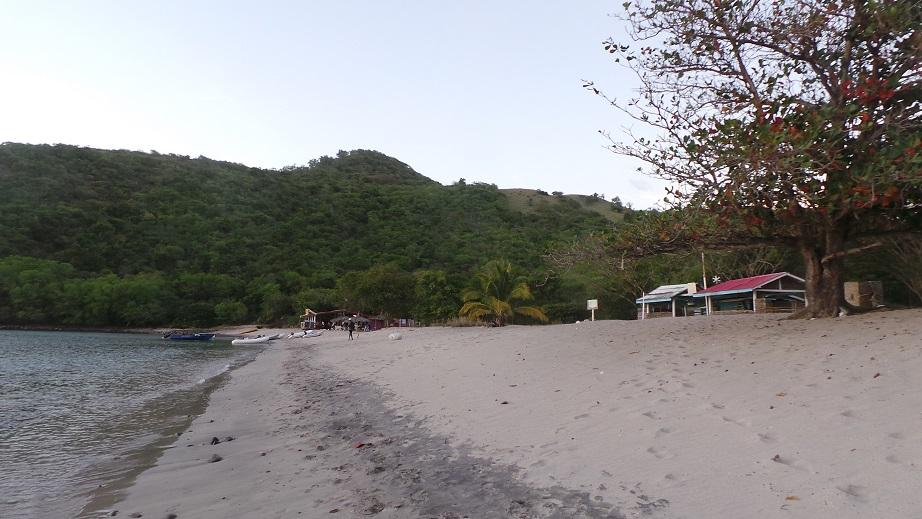 La plage de Chatham Bay