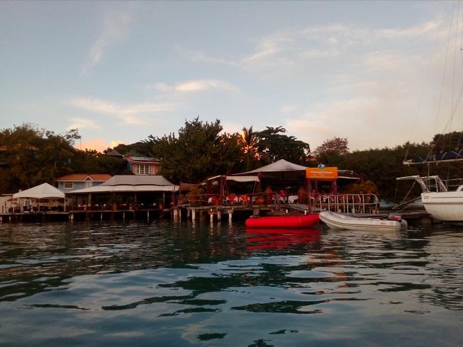 Le restaurant de True Blue bay