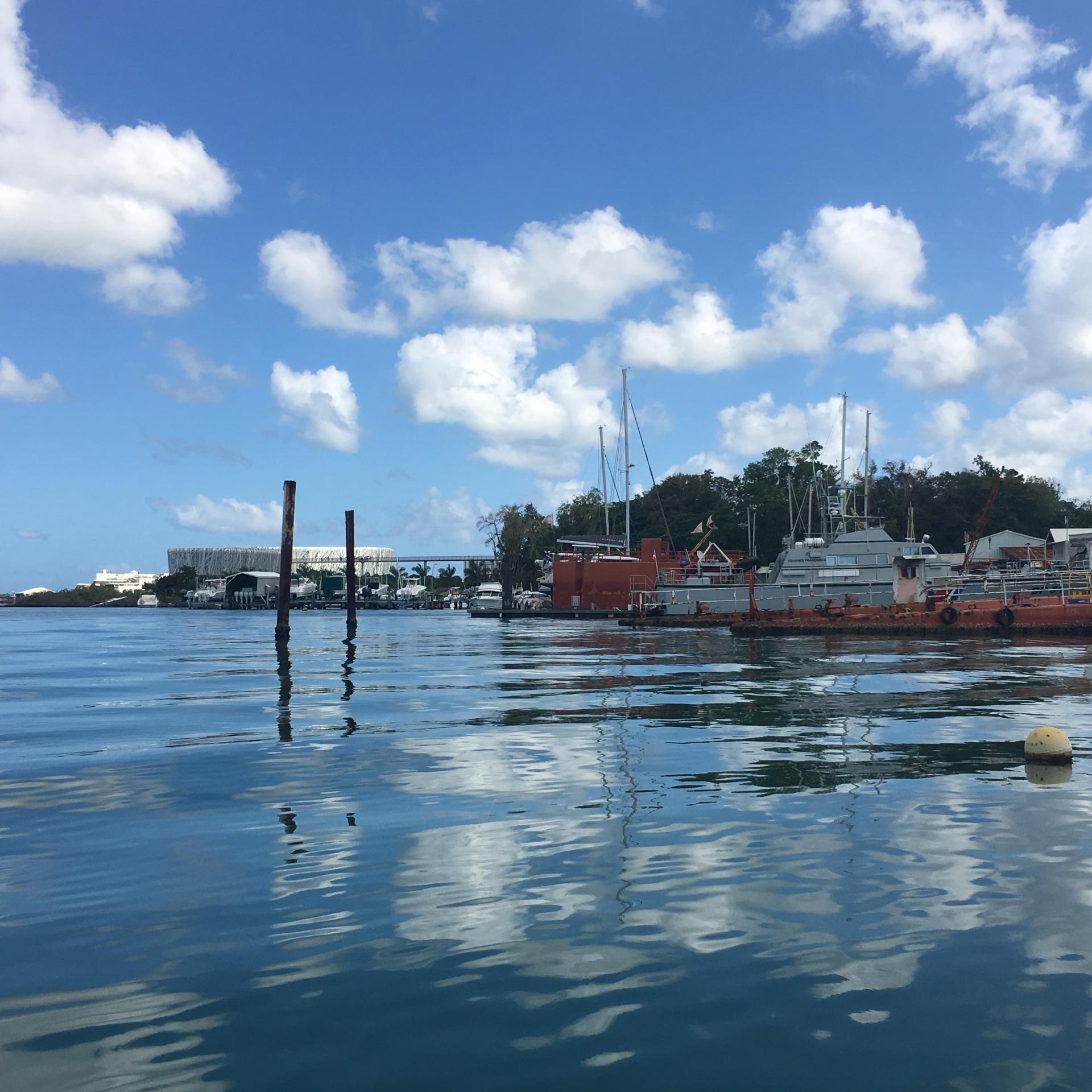 Vue de notre bateau