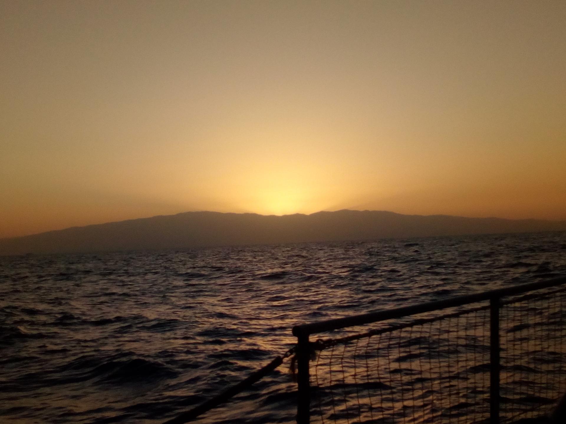 Coucher de soleil sur Gran Canaria