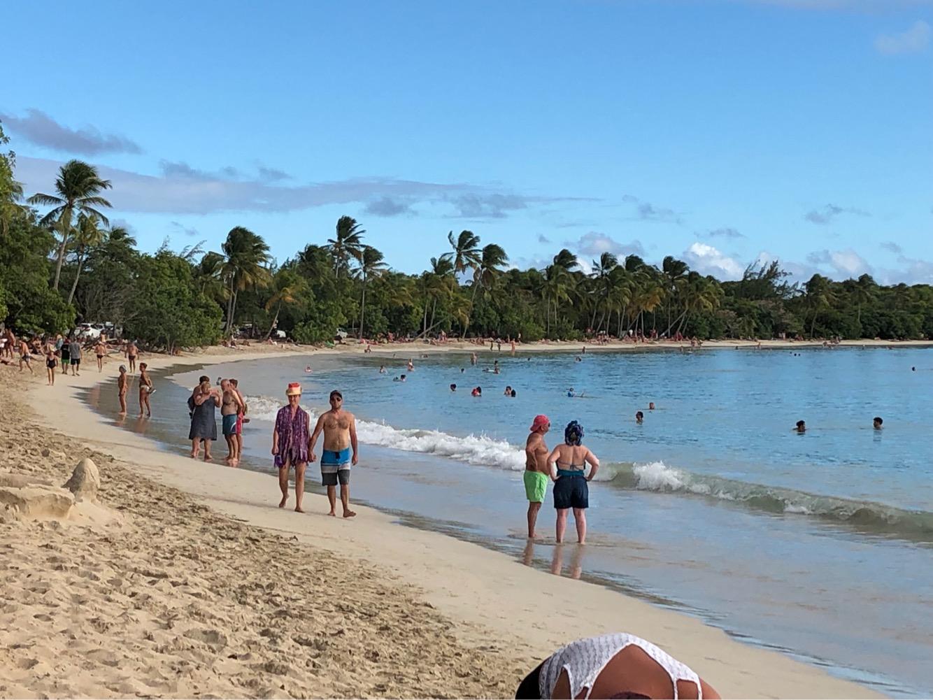 La plage des Salines : la plus fréquentée de l'île