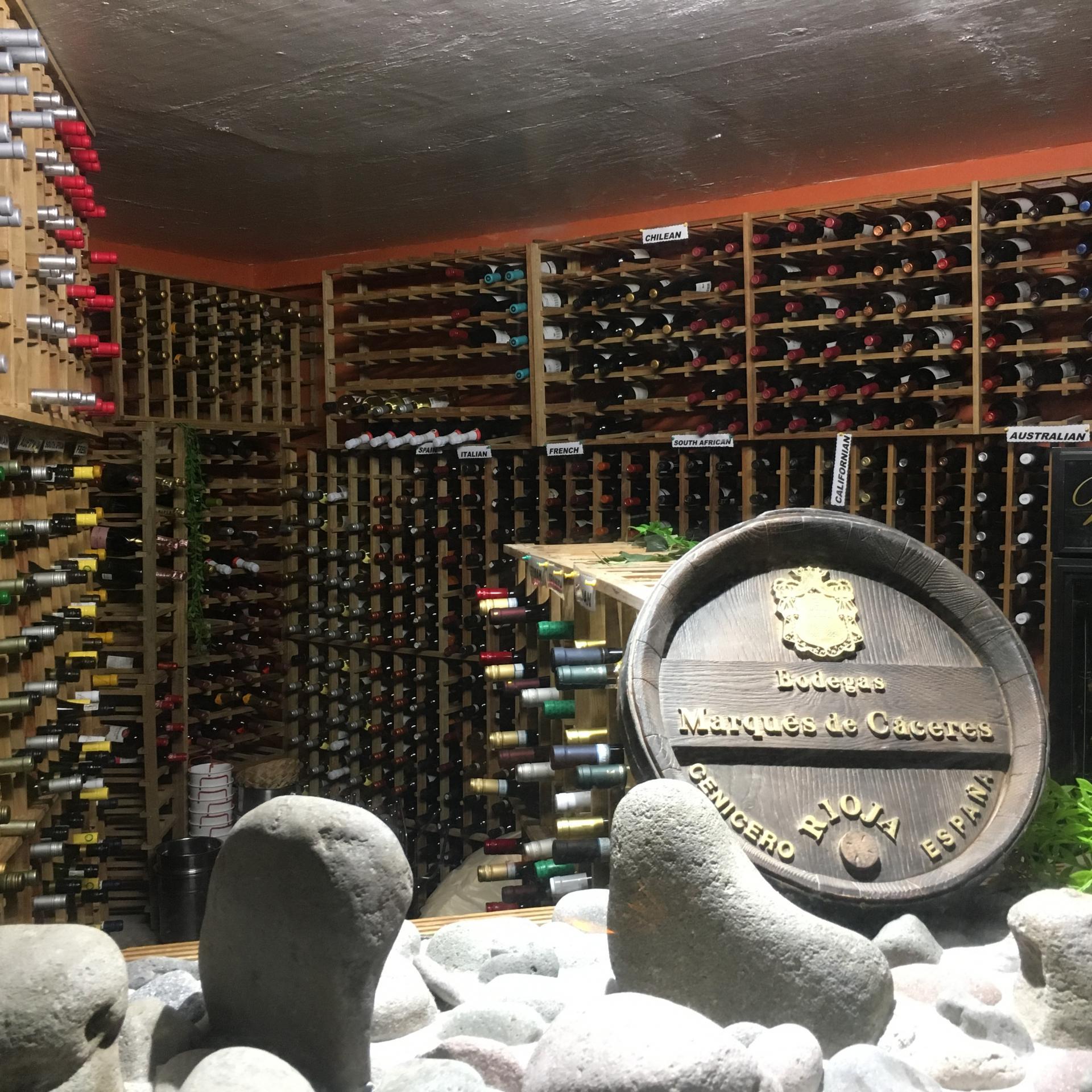 Sa cave à vins : des crus du monde entier
