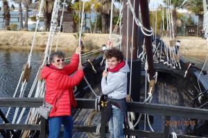 Huelva : le bateau de Christophe Colomb