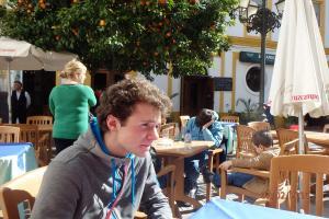 Pause déjeuner à Cadix