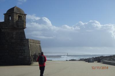 Fort à l'entrée de Vila do Condé