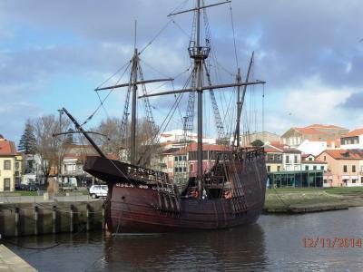 Vieux vaisseau à Vila do Condé