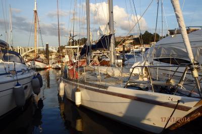 Lambarena à la marina du Douro (porto)