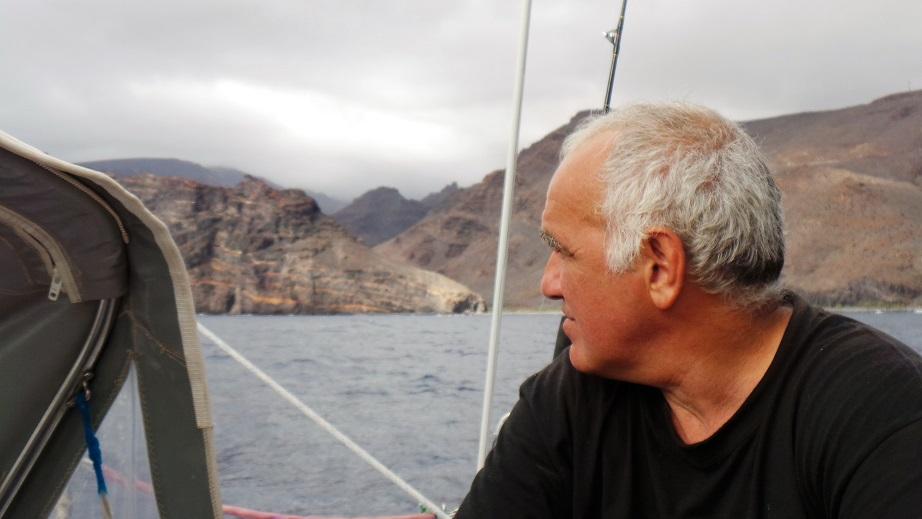 En chemin vers Playa Santiago